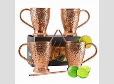 Kamojo Mule Moscow Mule Pure Copper Mug Set   Rank & Style