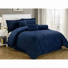 navy blue bedding