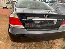 2005 Toyota Camry Airbag Light 2005 Automatic Black Petrol Toyota Camry For Sale Cheki