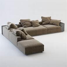 Ground Sofa 3d Image by 3d Model Realistic Flexform Groundpiece Sofa