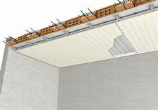 isolamento interno soffitto radial top c pannelli per impianto radiante a soffitto