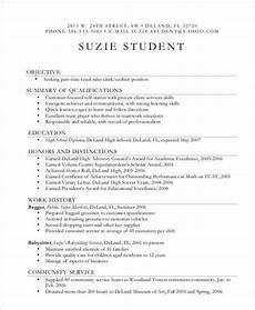 Resume Format For Teenagers 14 First Resume Templates Pdf Doc Free Amp Premium