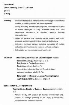 Resumes For Graduating College Students For College Students Student Resume Template College