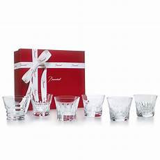 set bicchieri set 6 bicchieri everyday in cristallo baccarat
