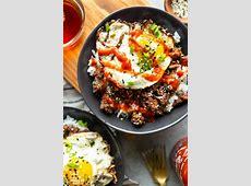 Korean Ground Beef Bowls   Fox and Briar