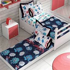 monsters boys bunk bed comforter set 2 pcs