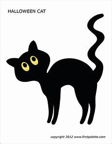 Malvorlage Schwarze Katze Cats Free Printable Templates Coloring Pages