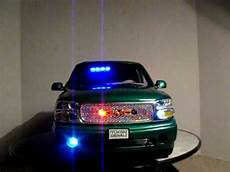 Green Light On Car Uk 1 18 Gmc Yukon Green Undercover W Pattern Lights Suv