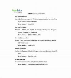 Example Of A Reference List 10 Reference List Templates Pdf Doc Free Amp Premium