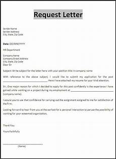 Contoh Appeal Letter Request Letter Template Business Letter Template
