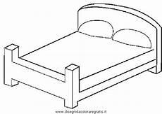 disegni da letto disegno letto 3 da colorare