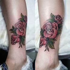 Rose Designs On Leg 155 Rose Tattoos Everything You Should Know With