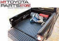 genuine toyota tacoma bed mat cab bed pt580