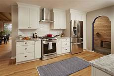 timeless white shaker kitchen accented with rich painted