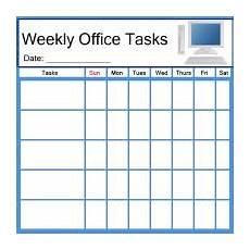 Office Tasks List Pc Office Task List