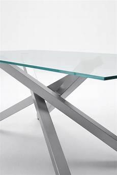 tavoli in vetro e acciaio pechino tavolo in acciaio e vetro by midj design studiokappa