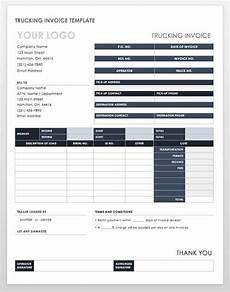 Trucking Invoice 55 Free Invoice Templates Smartsheet