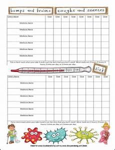 Medicine Dosage Chart Template Free Printable Medicine Chart For Kids Kiddos Charts