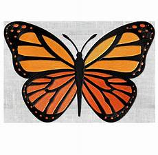 monarch butterfly embroidery design file instant
