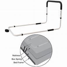 secure bed assist rail for elderly fall prevention