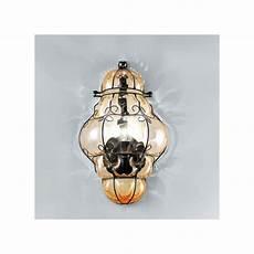 applique alogene applique sy 1437 lada parete classica vetro soffiato