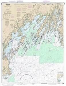 Butler Freeport Trail Mileage Chart Themapstore Noaa Chart 13290 Noaa Bailey Island Cape