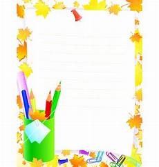 Stationery Border Design Stationary Borders Clipart Free Download On Clipartmag