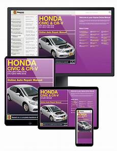 Online Service Manual Honda Civic 2012 2015 Amp Cr V