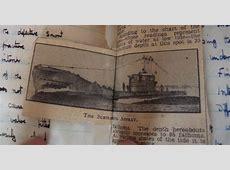 Michael Heath Caldwell M.Arch   Naval Diary 1951/2 17th