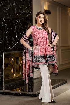 Dress Design Features 3 Piece Printed Amp Embroidered Lawn Suits 2018 By Nishat