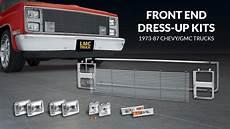 Led Lights For 85 Chevy Truck Front End Dress Up Kit Grille Amp Lights For Chevrolet