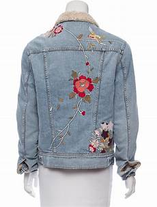 embroidery denim siwy embroidered denim jacket clothing wsc20156 the