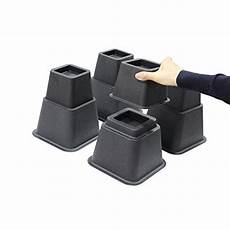 jeronic 8 inch adjustable bed risers 3 height option
