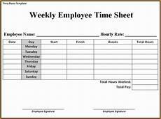 Weekly Payroll Sheet 5 Payroll Timesheet Template Simple Salary Slip