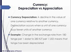 Exchange rates. (Lecture 4)   online presentation