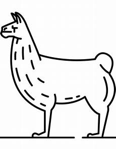 Ausmalbilder Tiere Lama Ausmalbilder Lama Alpaka 1ausmalbilder Lama