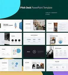 Powerpoint Deck Template Pitch Deck Powerpoint Template Pptwear Com Download Ppt