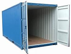 blue shipping container png image