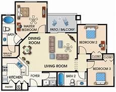 Apartment Furniture Planner Foundation Dezin Decor 2 3 Bedroom Apartments
