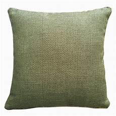 lewis green tartan cushion cover faux wool made in