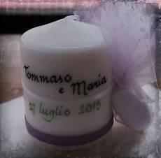 candele bomboniera la bottega di lilliput candele bomboniera
