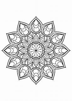 mandalas free to color for mandalas coloring pages