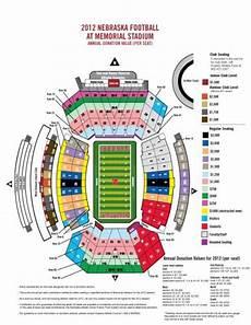 Nebraska Cornhuskers Memorial Stadium Seating Chart Seating Charts Huskers Com Nebraska Athletics Official