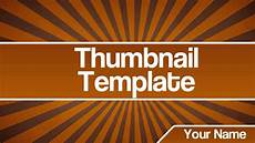 Youtube Thumbnail Templates Thumbnail Template By Graphicarts Youtube