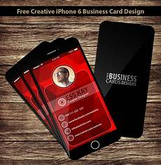 iphone 6 business card template free creative iphone 6 business card design on behance