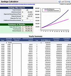 Investment Calculator Excel 6 Compound Interest Calculator Spreadsheet Excel