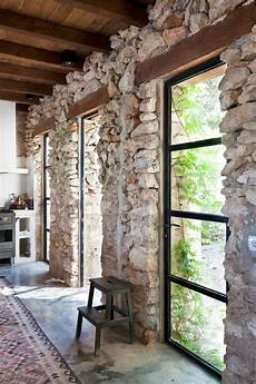 Interior Rock Wall 57 Exposed Wall Ideas For A Modern Interior My