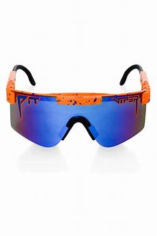 How To Polarize Sunglasses Orange Polarized Pit Viper Sunglasses The Crush