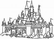 Malvorlagen Prinzessin Schloss Disneyland Castle Coloring Pages At Getcolorings