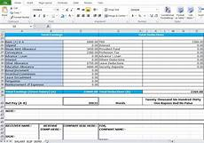 Salary Format Excel Sheet Salary Slip Format In Excel Free Download Excel Tmp